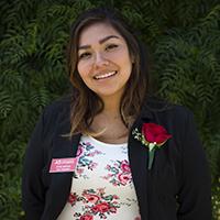 Headshot of vice president Rose Merida
