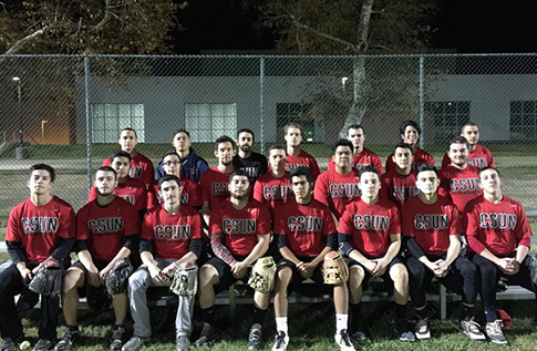 Group photo for Baseball