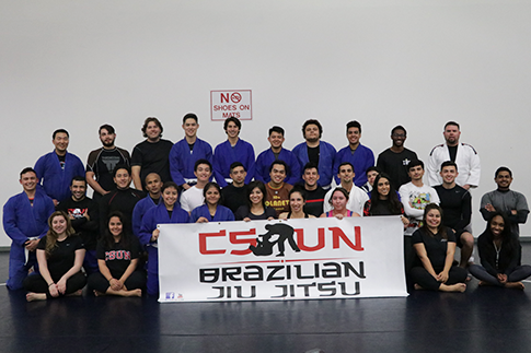 Group photo for Brazilian Jiu-Jitsu