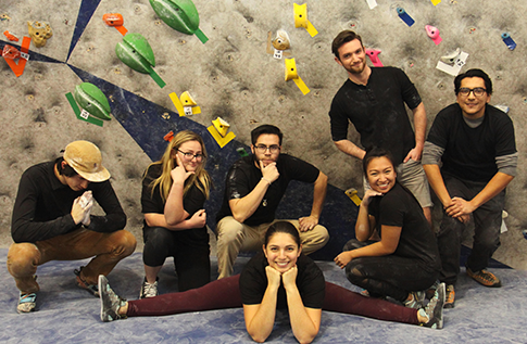 Group photo for Climbing