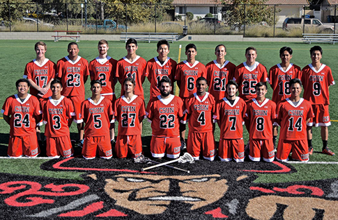 Group photo for Men's Lacrosse