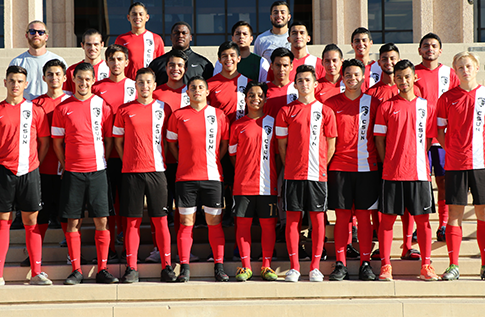 Group photo for Men's Soccer