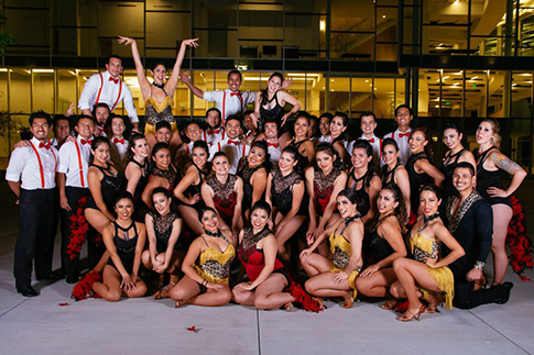 Group photo for Salsa Libre