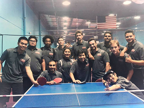 Group photo for Table Tennis Club