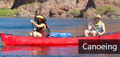 Canoeing trips