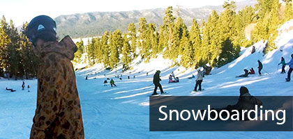 Skiing and snowboarding trips