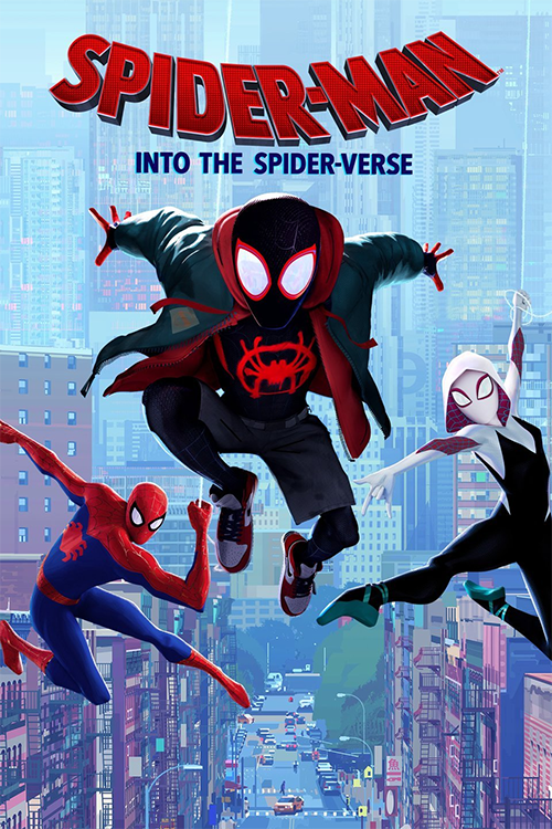 Spiderman: Into the Spider-Verse poster