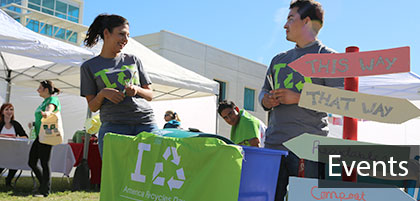 Associated Students Sustainability and Recycling events