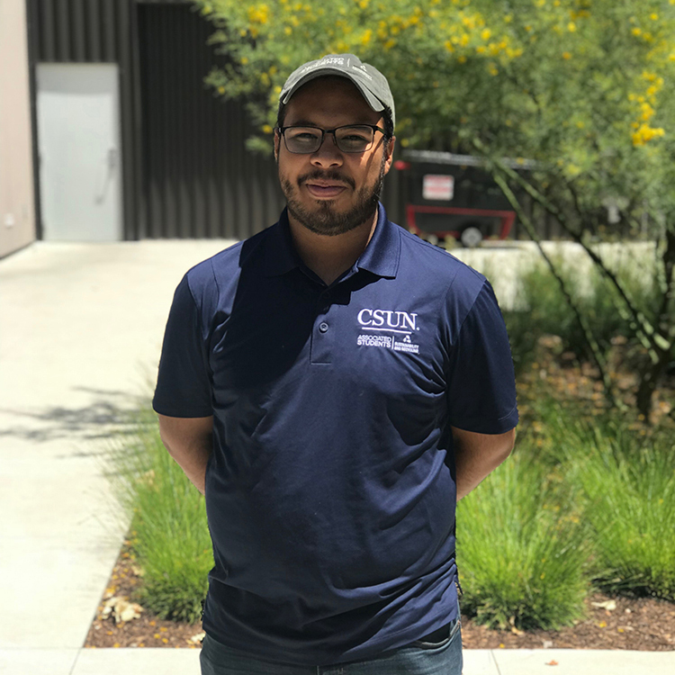 Photo of David Aguilera, one of the lead Assessors at the Sustainable Office Program